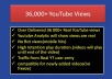 spread 36 000+ High Retention Real YOUTUBE Views for promote your videos