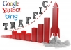 drive HOT unlimited real traffic targeted, unique Visitors to Your Website for one week