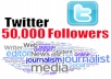 send You 45,000+ Real Looking Quality Twitter FOLLOWERS