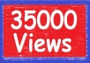 give you gua ranteed 35,000 yo utube views to your youtube video, all views deliver within 96 hours
