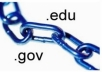 create 10 Dofollow EDU GOV PR5 to PR6 Backlinks using redirects
