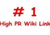 create a Youtube Seo Link Pyramid with 200 High PR Wiki Links Plus 3000 Blog Comments ||| Buy 2 Get 1 Free ||| 