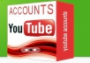 get you 10 accounts pva youtube or gmail verify phone us