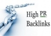 50+ PR6-PR9 backlink BOOST YOUR RANK
