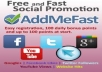 give you 8000+ points to your ADDMEFAST account within 24 hrs