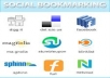 create 1000 Social bookmarks with Rss + Ping + report 