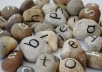 create a unique message from natural coloured stones and send you the images to use as a gift or for promotional purposes