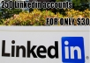 create 250 Linkedin accounts