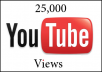 give you at least 25,000 Speedy YouTube Views