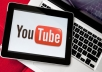 give you 5O REAL youtube likes to your youtube video all likes deliver with 23 hours
