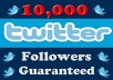add 12,000++ High Quality Twitter Followers In Less than 72 hours To Increase Your Followers Count Without Password