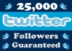 add 25,000++ High Quality Twitter Followers(not real looking) In Less than 72 hours To Increase Your Followers Count Without Password