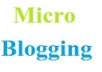 Create 200 new web 2.0 microblogging links to your website
