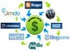 create 3000++ backlinks and ping your domain url or blog