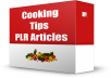provide Cooking Tips PLR Articles