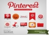 Get you 100+ Pinterest followers,100% real & active only
