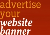 give LIFETIME banner advertising