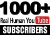 Guaranteed 1000+ VERIFIED Youtube Subscribe within 48 hours