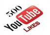 give you 500*** plus You Tube &quot; likes &quot; with in 24 hours_.,,.,