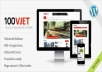 [Themeforest]100 Vjet - Responsive WP Magazine for