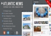 [Themeforest]Atlantic News - Responsive WordPress Magazine Blog