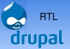 convert your Drupal themes to RTL themes