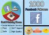 deliver 1000 facebook followers to your profile in LESS than 24 hours