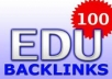 create 50+ PR5 to PR9 Perma nent Edu  and  Gov  Backlinks