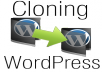 create and then transfer an exact clone of your self-hosted Wordpress blog or website to your new domain