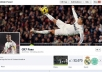 share your link to CR7 Fans Page on fcebook