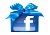 give you Instant 2200+ Real Facebook likes on your fanpage within 19 hour