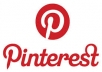 give you 155+ Pinterest Followers 100% real active 