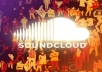 give You  1,00,000 SoundCloud Plays  For Your Track  No Admin Access Required Fast Delivery