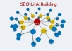  create you 30  PR 5+ profile backlinks from 30 different high Pr authority sites [ DoFollow, Anchor Txt, Panda Penguin Frindly ] + pinging for