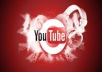 get you 1000+ high retention youtube views + 50 likes+50 favorites for only 3 days