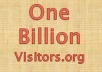 run your banner ad for 10 days on high traffic website OneBillionvisitors