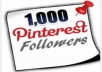 add 1,000 Pinterest Followers to your account without admin access.