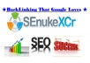 ☛ create Senuke X Campaign Over 1000 SenukeX Backlinks Seo Google Search Domination  ☚