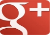 give you 100 real google+ with in 24 hours