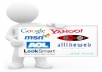 submit your Referral Link manually to Top 50 Search Engines and to 10K other Search Engines &amp; Directories with proof