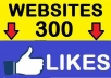 add express 300 fans on your website having facebook like button in max 24 hours or even faster