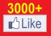 add express 2500+ real looking, Active Facebook Likes/ followers/ Subscribers to your fanpage within 10 hours