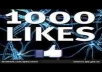 GIVE YOU 1000 REAL FANS LIKE FOR YOUR FACEBOOK FAN PAGE ONLY REAL NOT BOT LIKE  ONLY