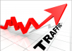 send unlimited traffic to your site for 1 week
