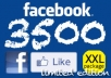 Give You 4000 REAL FACEBOOK Likes to your Facebook FanPage without Admin access f