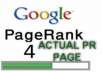 create HIGH QUALITY 20 PR3 to PR4 Backlinks with PR of ACTUAL PAGE using blog comments