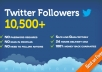 get you 10500+ Twitter FOLLOWERS that you can split between 2 accounts or put all on one in less than 24 hours