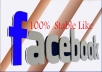 give you real 400 USA facebook like within 2 days no admin access need