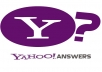  provide 05 Yahoo Answers with your link from different Yahoo Answer level 2 Accounts that will bring Huge Traffic on your Website GUARANTEED