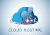 give UNLIMITED *Cloud* Web Hosting